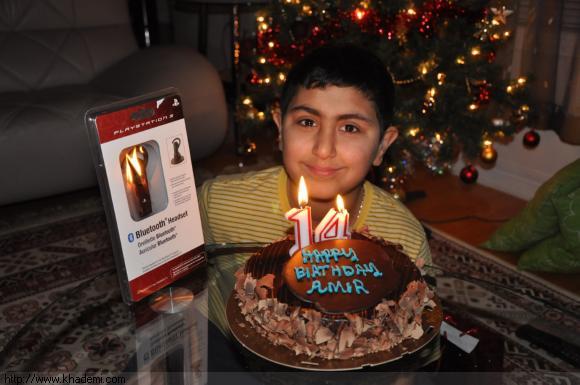 تصویرهایی از تولدت مبارک دایی جان امیرحسین جان تولدت مبارک