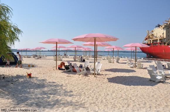 محلی برای گرفتن حمام آفتاب بدون آنکه در کنار ساحل باشی!