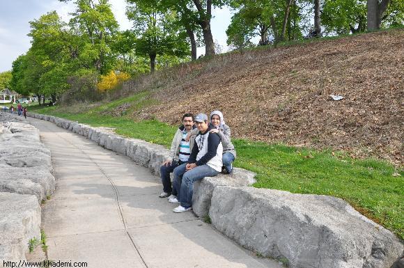 شهر نیاگارا در کنار دریاچه